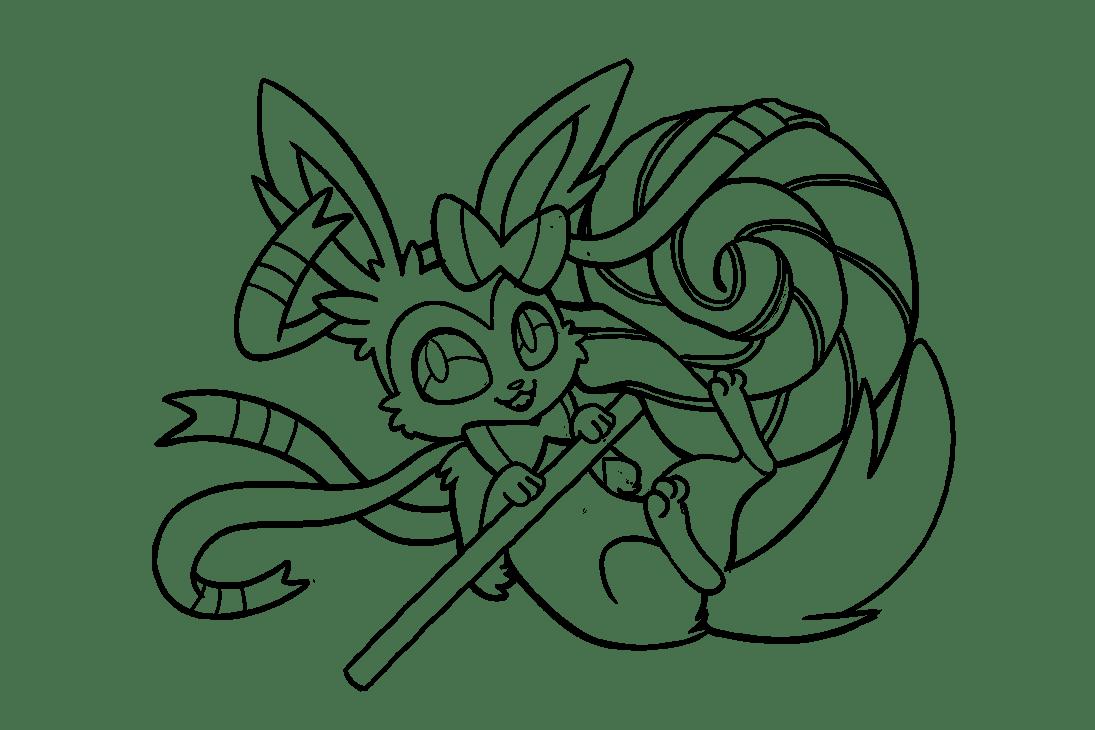 20 Fresh Coloriage De Pokemon Nymphali