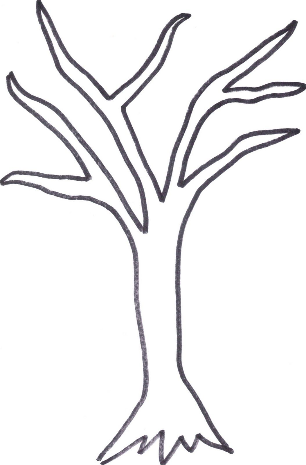Printable Tree Template