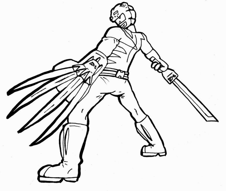 Rangers Apprentice Coloring Pages Coloring Pages