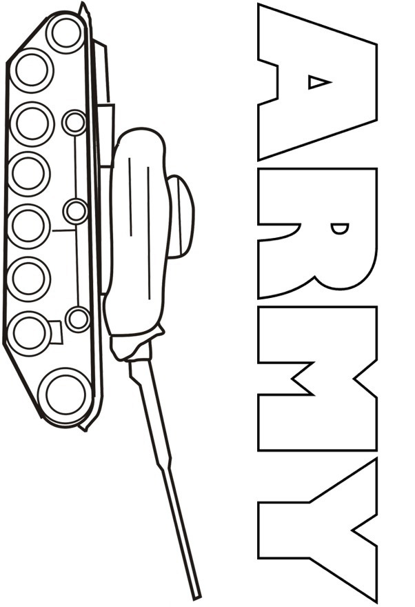 Tanks Coloring Pages : tanks, coloring, pages, Coloring, Pages