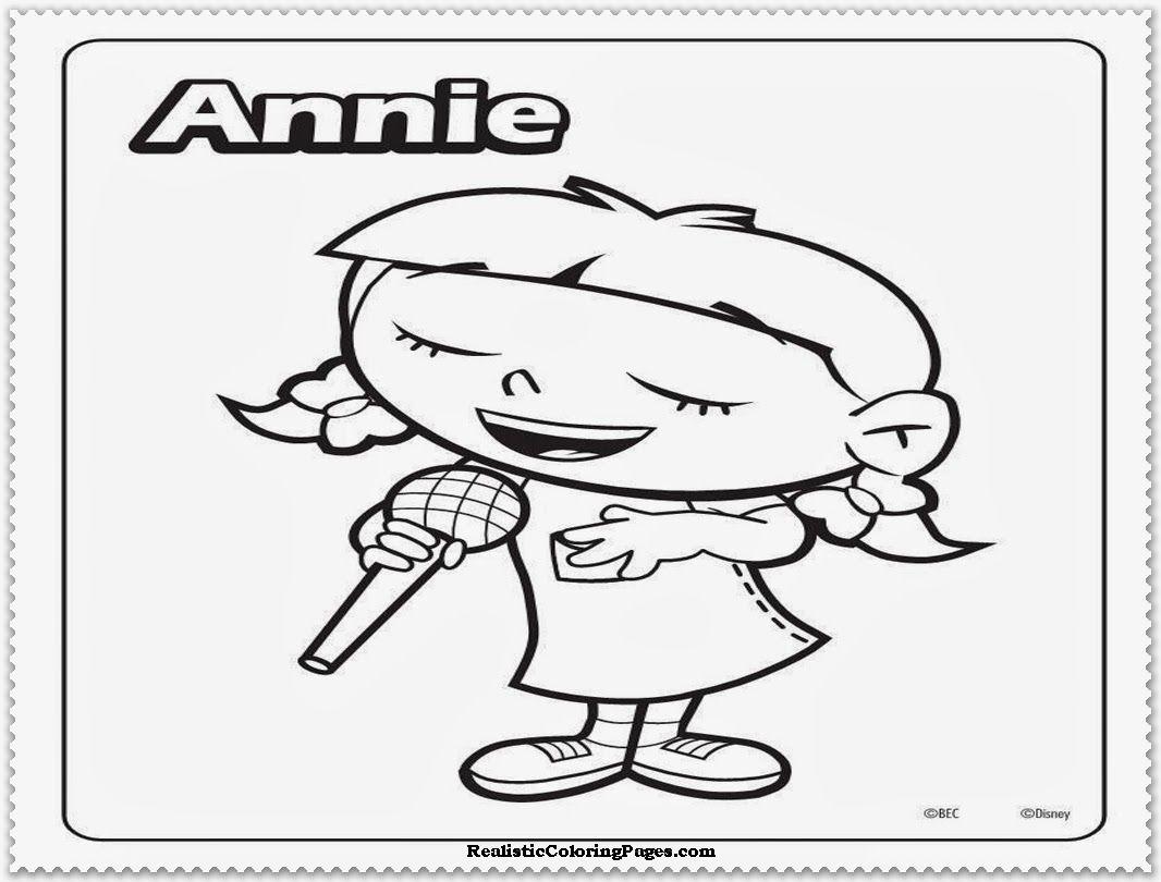 Little Orphan Annie Coloring Pages Democraciaejustica