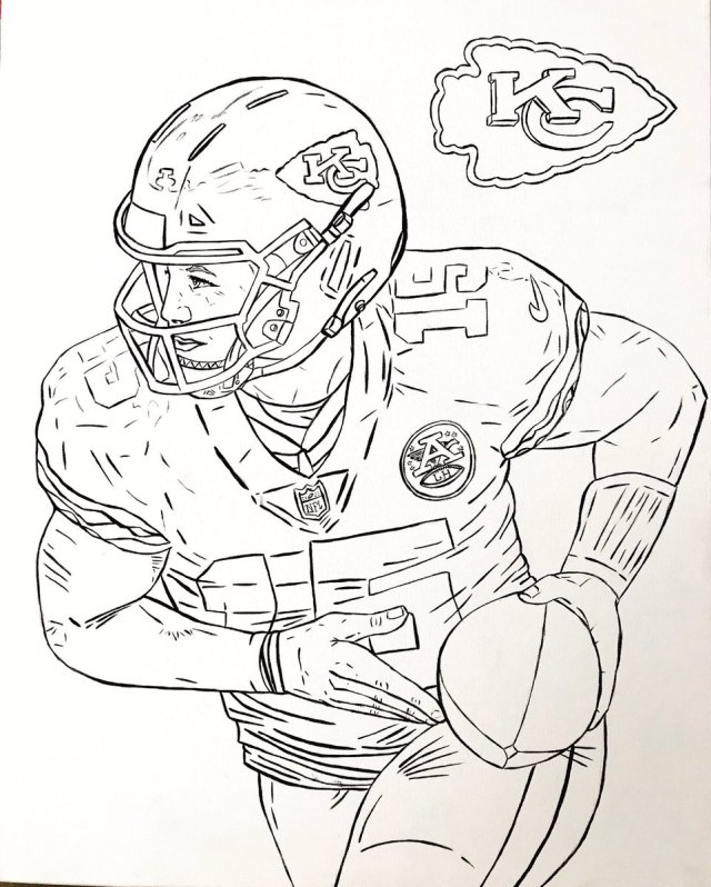 """Kansas City Chiefs On Twitter: """"Get Your Coloring On - Coloring Home"""