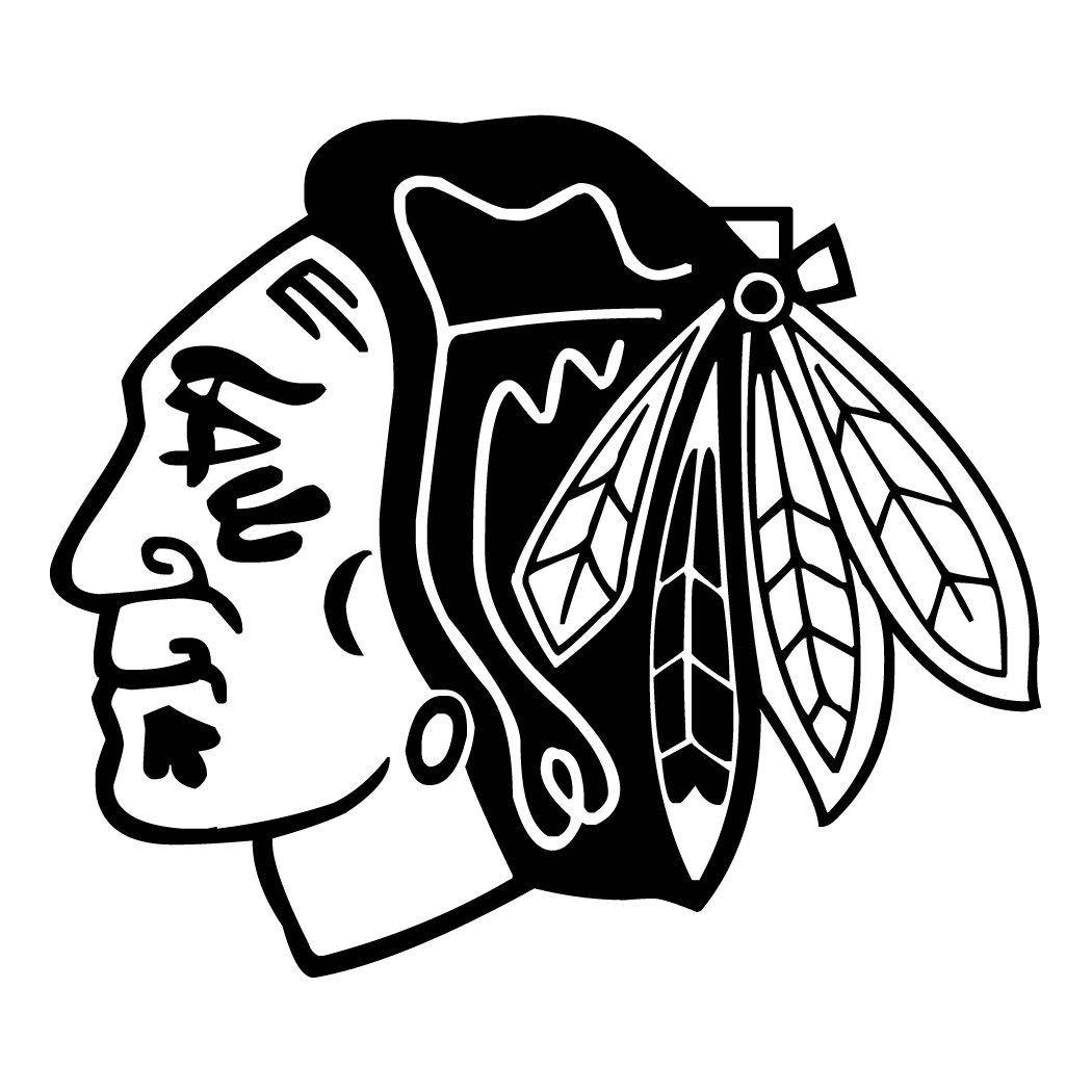 Chicago Blackhawks Coloring Page