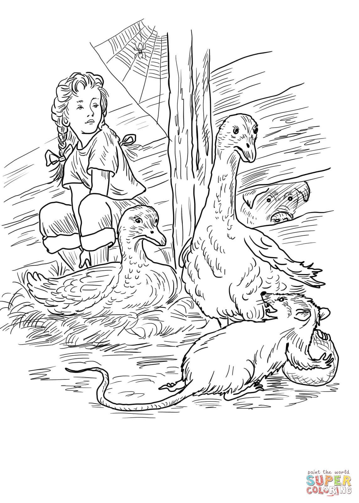 Free Charlotte S Web Coloring Pages