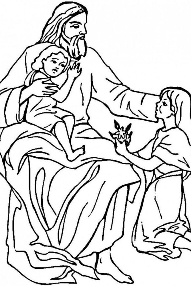 coloring pages of baby jesus  coloring home