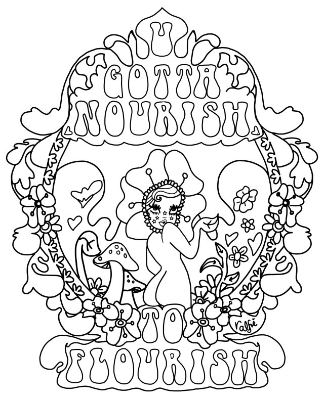 Weed Coloring Pages - Coloring Home