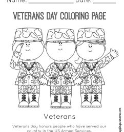 Veterans Day Coloring Pages Free - Coloring Home [ 1024 x 819 Pixel ]
