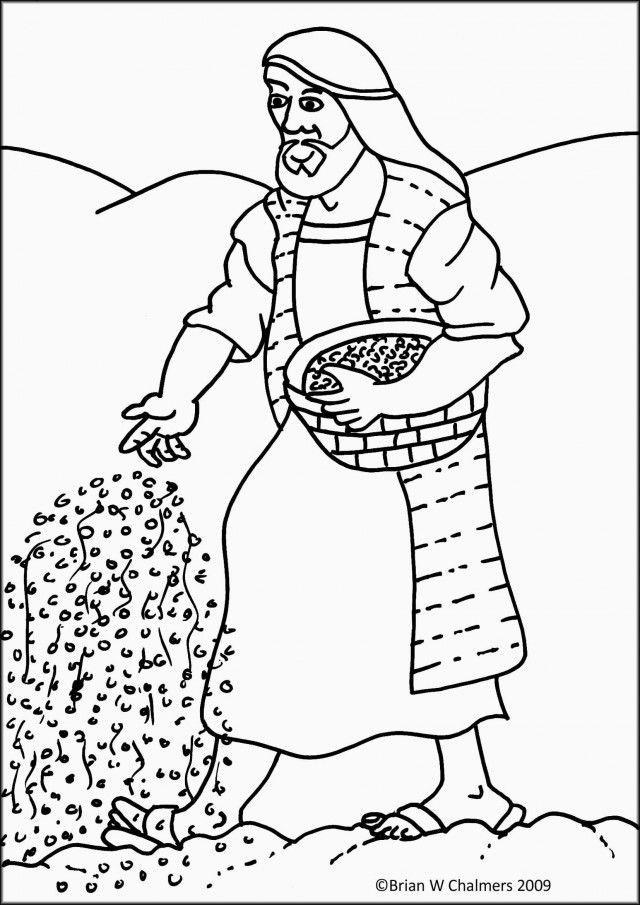 Parable Of The Sower Version 1 Flip Chart EBibleTeacher