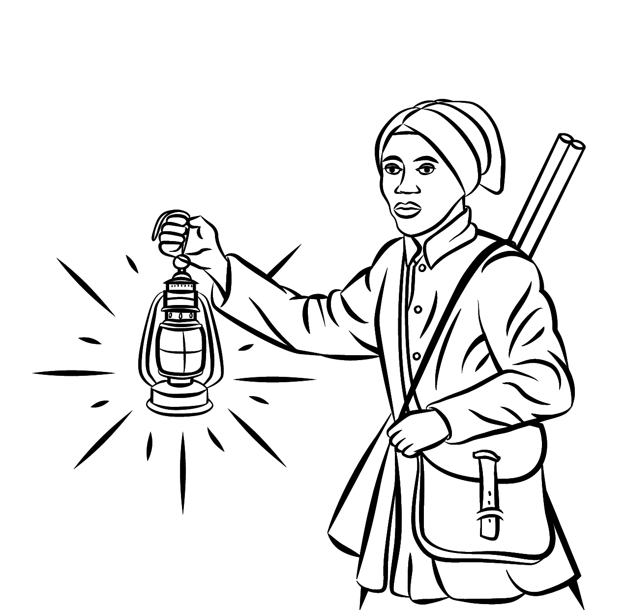 Underground Railroad Coloring Pages