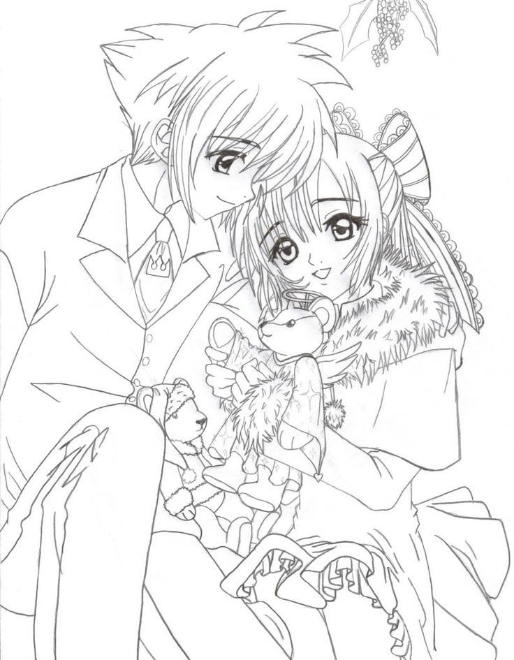 Anime Group Coloring Sheets Usui Takumi Coloring Page By