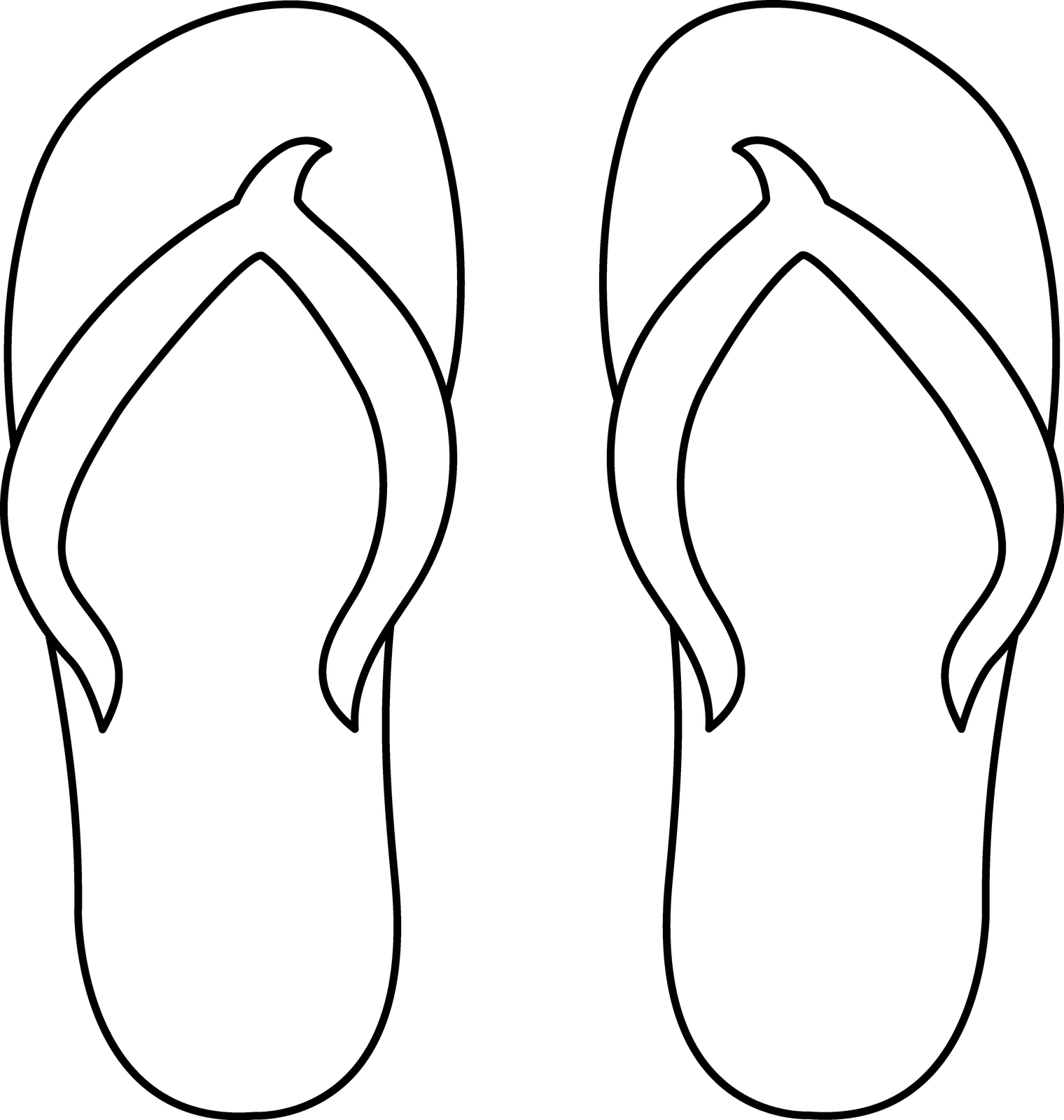 graphic about Printable Flip Flop Template titled Change Flop Routine Printable Change Flops Template
