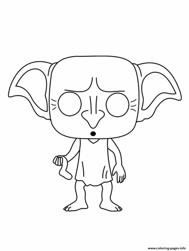 Dobby Coloring Pages - Coloring Home