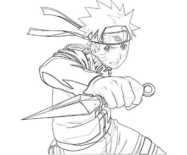 Naruto Shippuden Coloring Pages - Printable Kids Colouring Pages