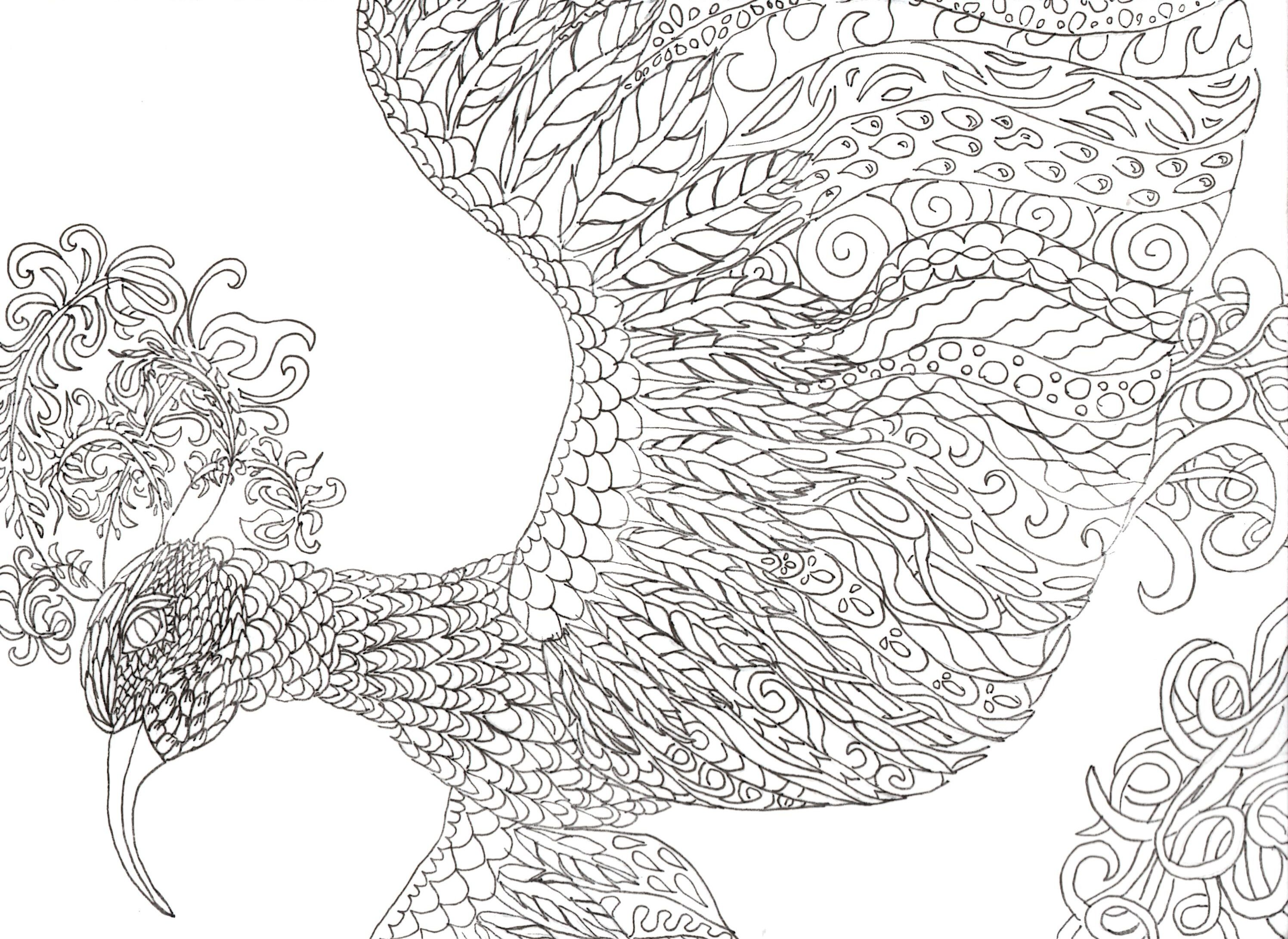 Intricate Coloring Pages Pdf Coloring Home
