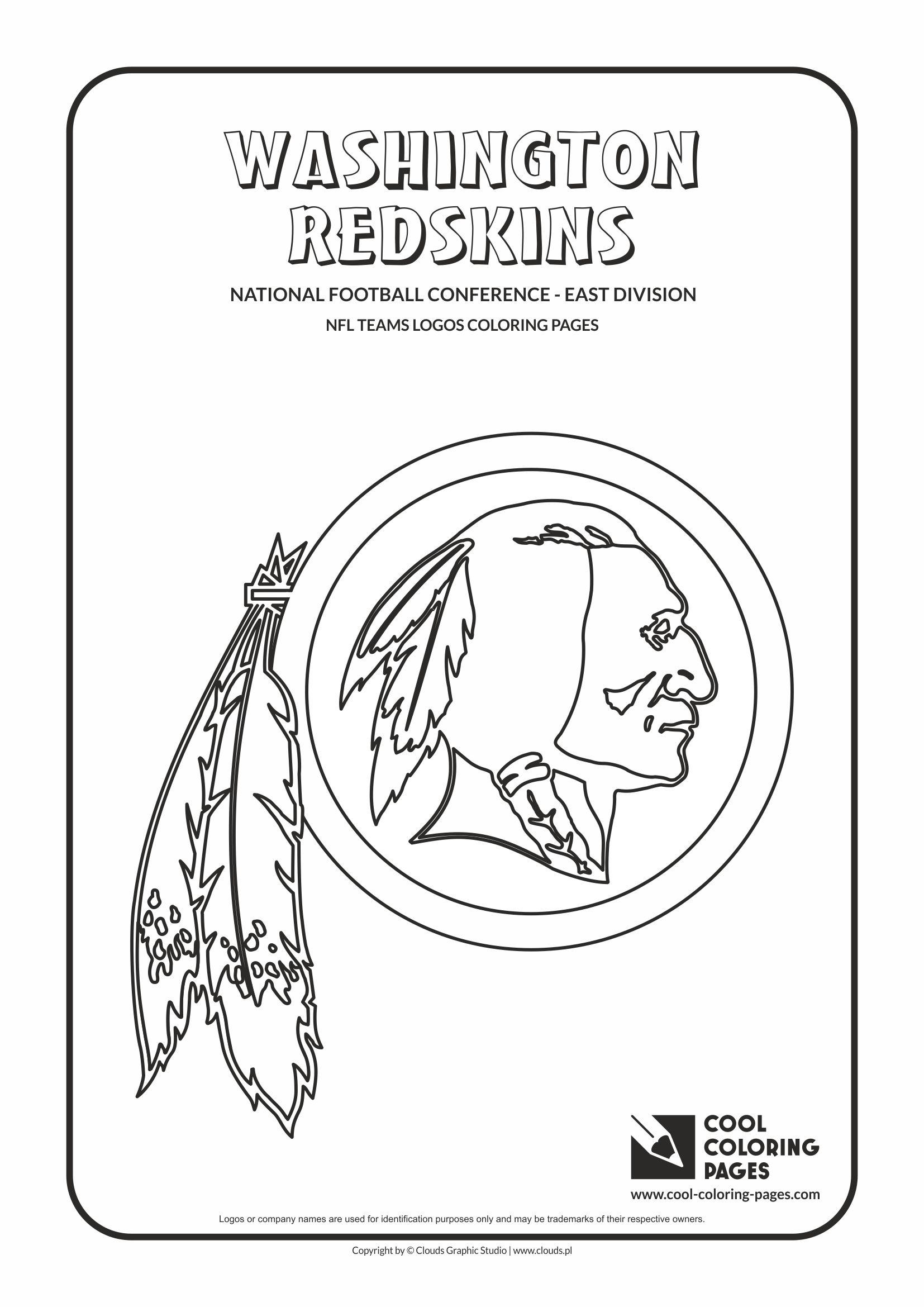 Washington Redskins € Nfl American Football Teams Logos Coloring