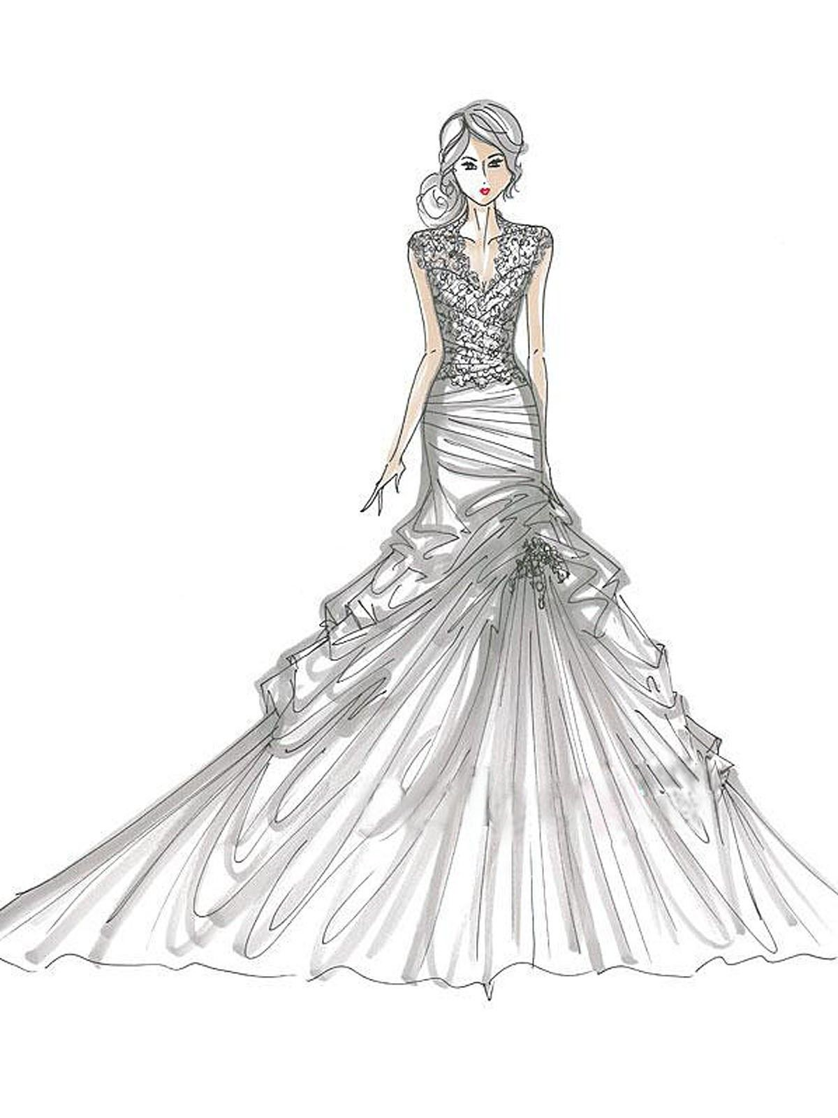 Printable Coloring Pages Of Fashion Clothing
