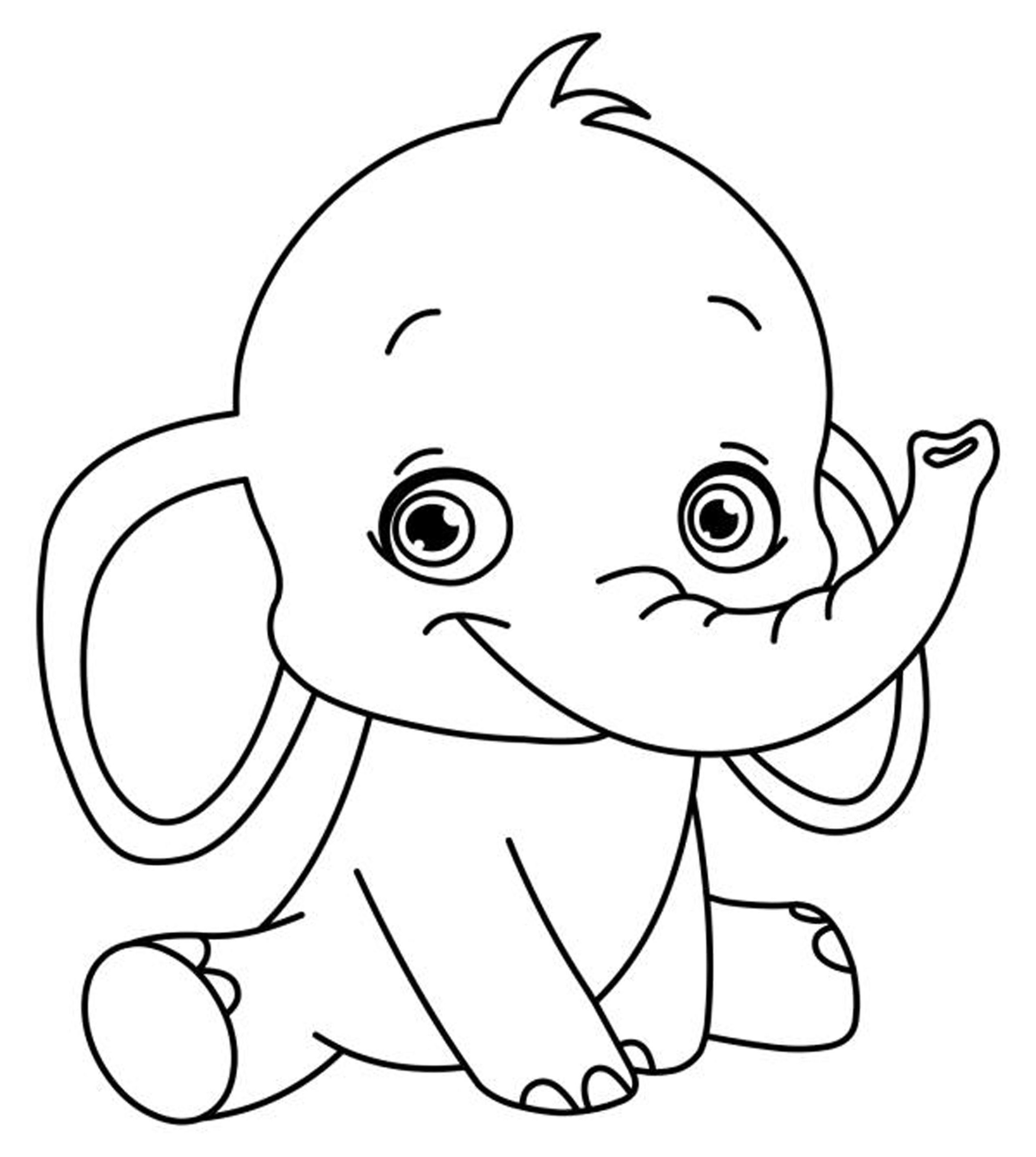 Easy Coloring Pages Printable - Coloring Home | printable coloring pages easy