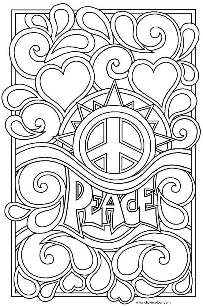 Coloring Pages For Teen : coloring, pages, Teenage, Coloring, Pages, Printable