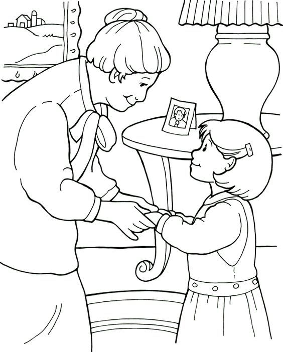 Love Your Neighbor As Yourself Coloring Page Sketch