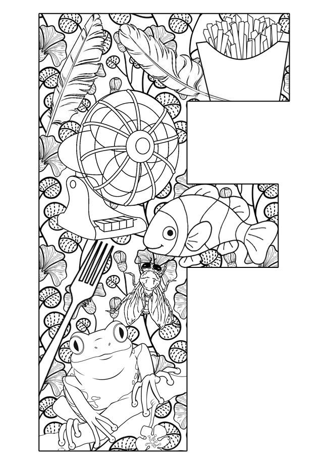 Free Printable Preschool Coloring Pages Things That Are