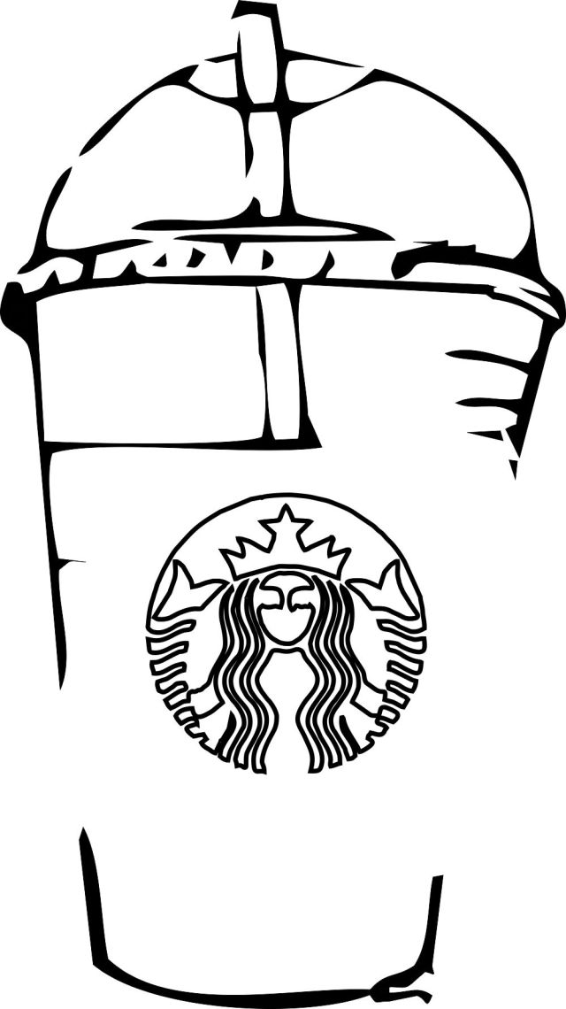 Starbucks Coloring Pages To Print  Activity Shelter - Coloring Home