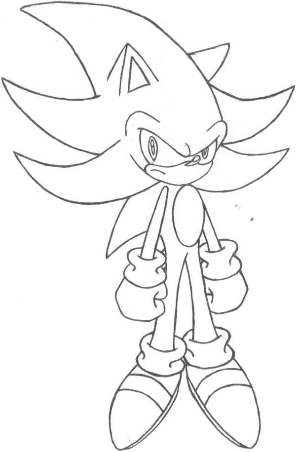 Super Sonic And Super Shadow And Super Silver Coloring