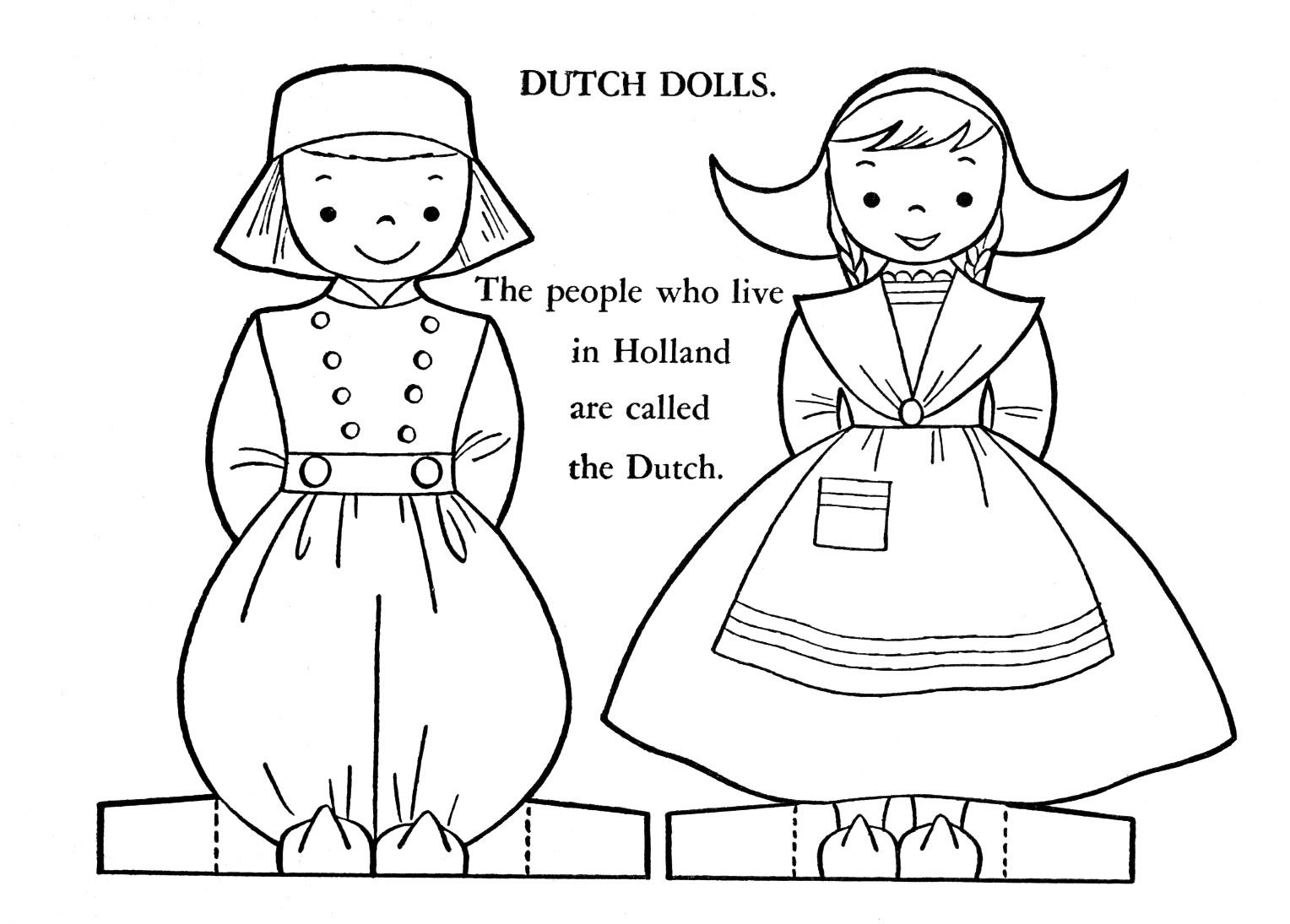 Windmills Coloring Pages