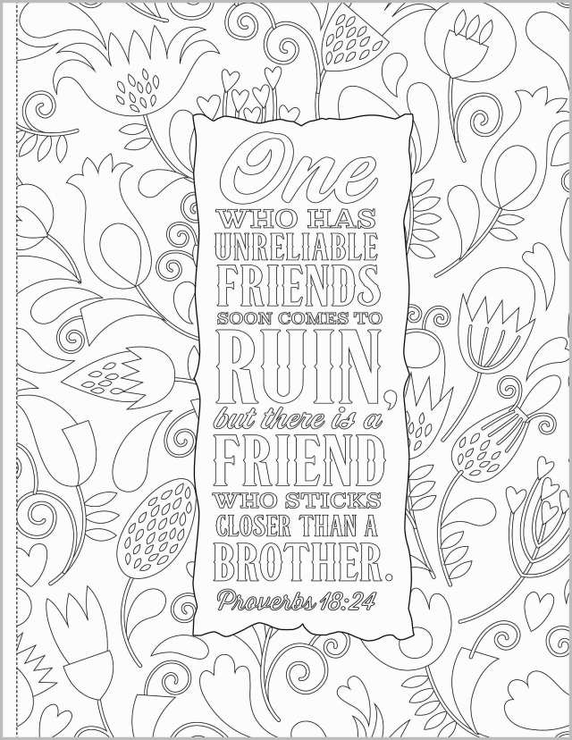 Awesome Bible Verse Coloring Sheet Freee Pages With Scriptures