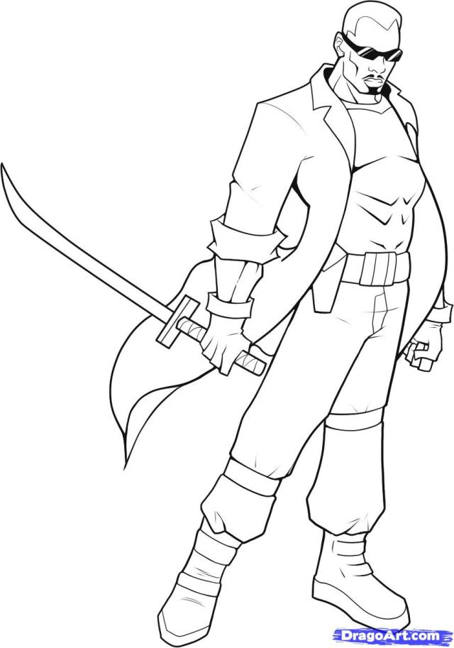 Blade Coloring Pages At GetDrawings  Free Download - Coloring Home