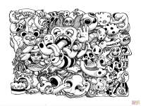 Doodle Art Coloring Pages | Free Coloring Pages - Coloring ...