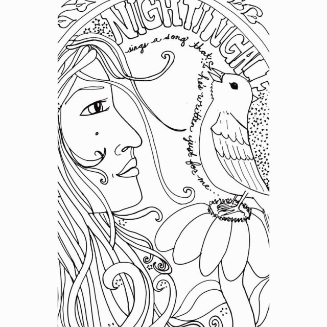 Indie Coloring Page - Coloring Home