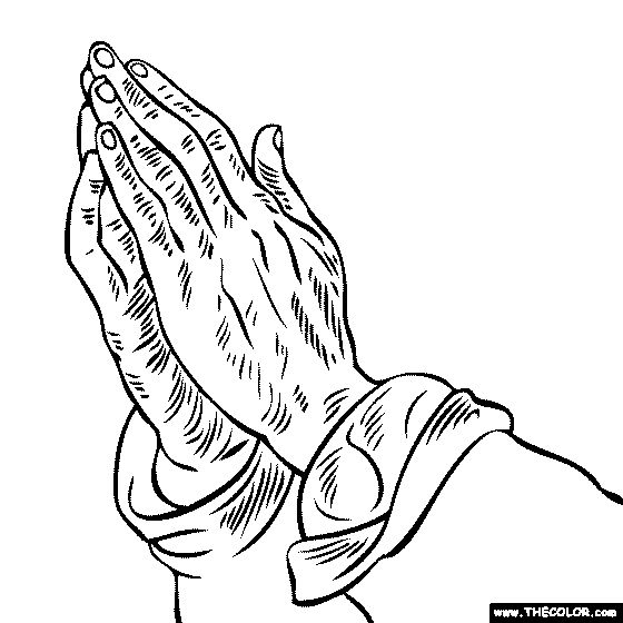 Free Coloring Pages Of Dope Hands