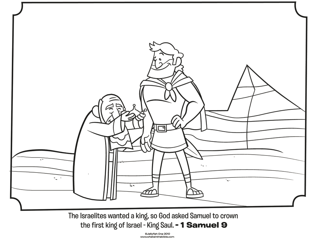 King Solomon Coloring Page