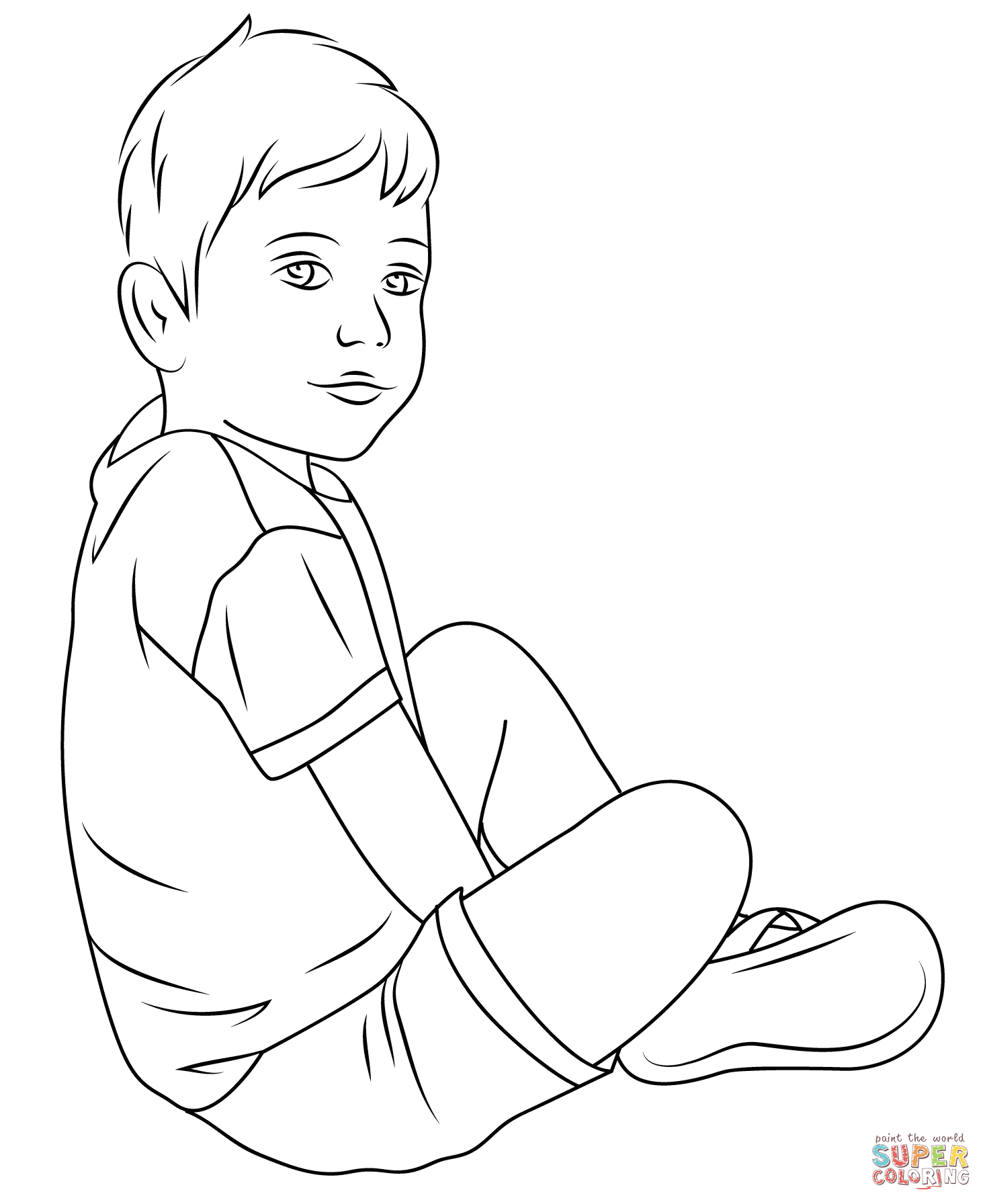 Campfire Coloring Criss Cross Style Coloring Pages
