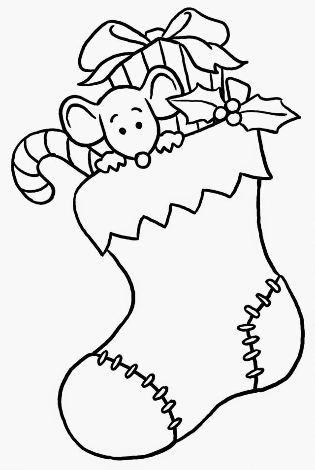 Prek Christmas Coloring Pages - Coloring Home