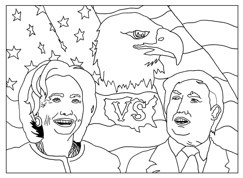 donald trump coloring pages  coloring home