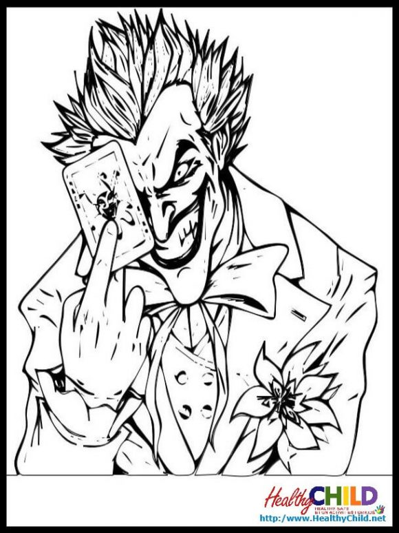 Heath Ledger Joker Pages Coloring Pages