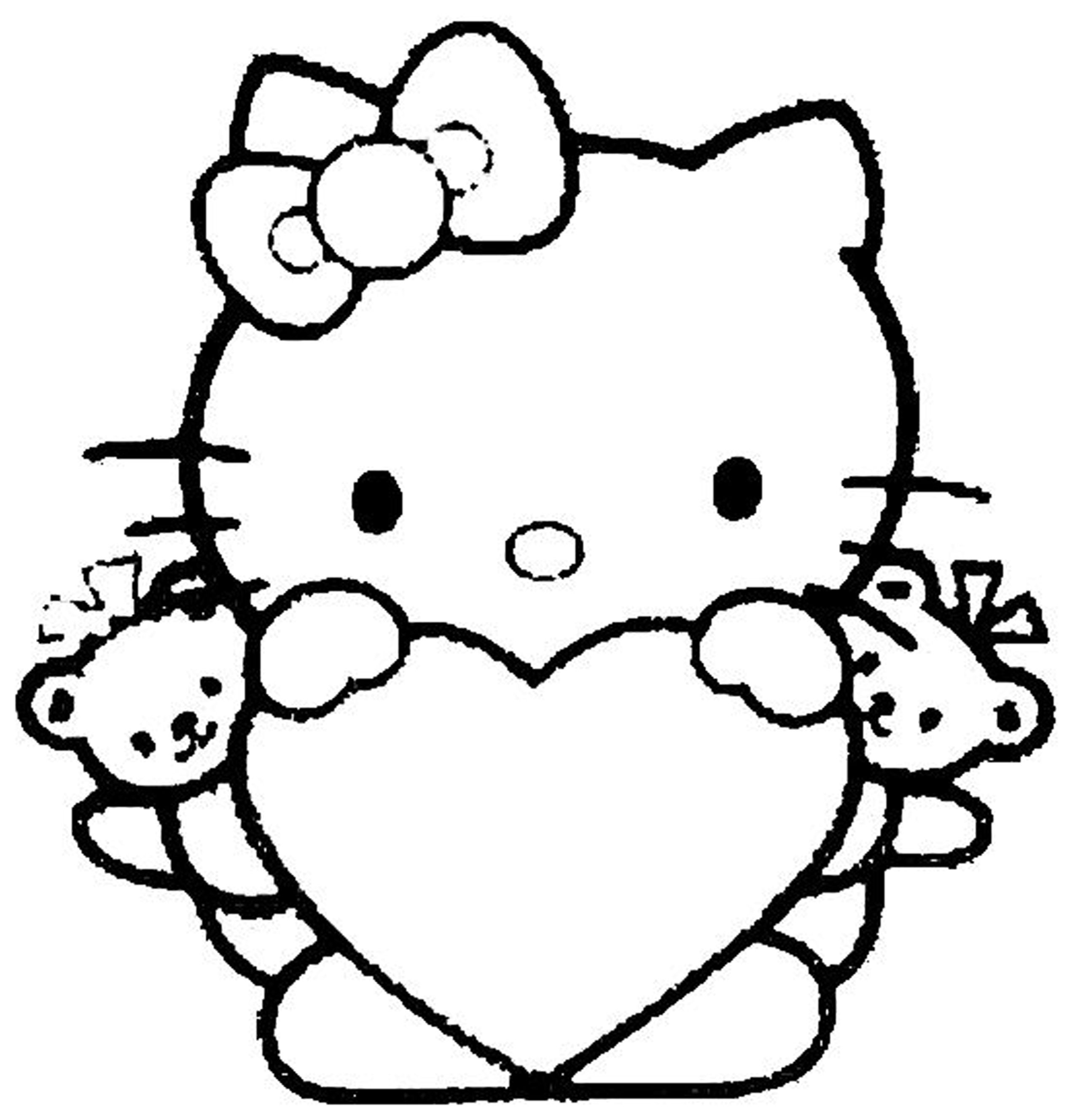 Girls Coloring Pages Easy