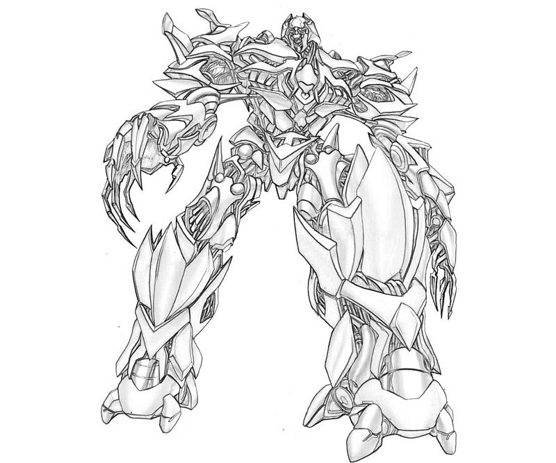 8 Pics Of Transformers Dark Of The Moon Coloring Pages