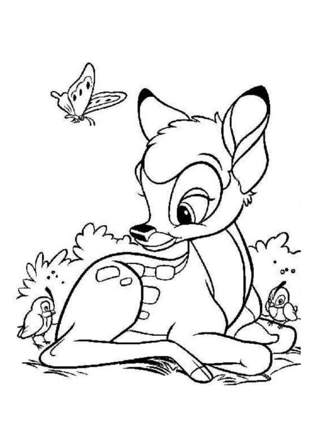 Coloriage-bambi-disney-24_jpg Dans Bambi Coloring Pages  Coloring
