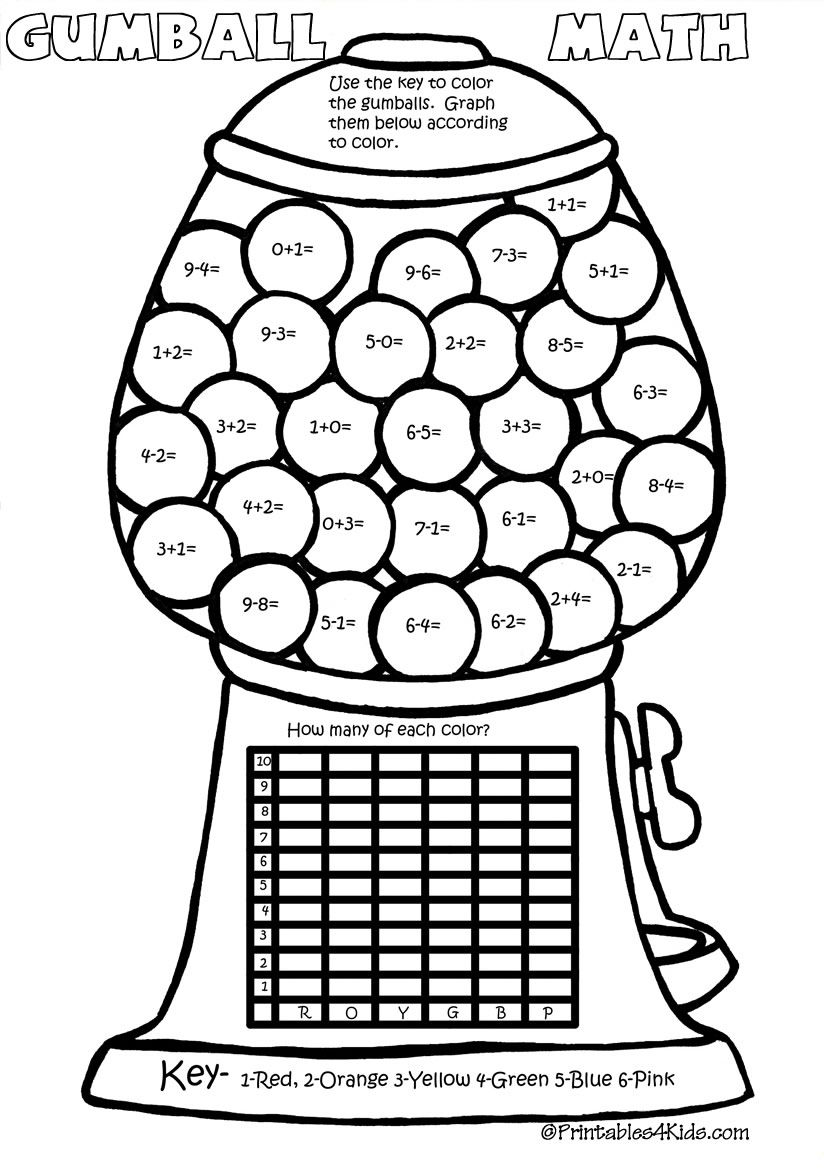 hight resolution of Math Coloring Pages Multiplication - Coloring Home