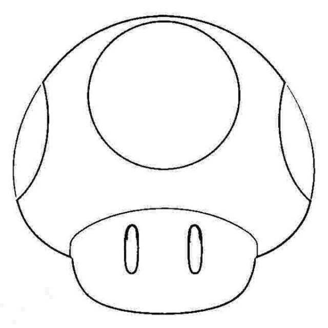 Super Mario Fire Flower Coloring Pages - Coloring Home