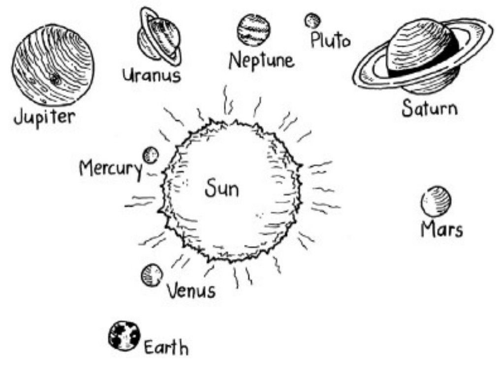 Solar System For Kids Coloring Pages For Kids And For Adults Coloring Home