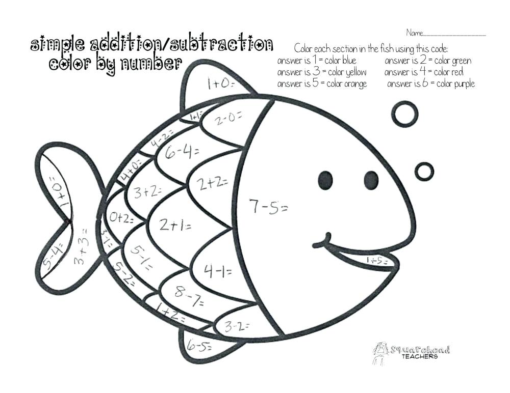 medium resolution of Coloring Pages : Free Mathg Sheets For 2nd Grade ... - Coloring Home