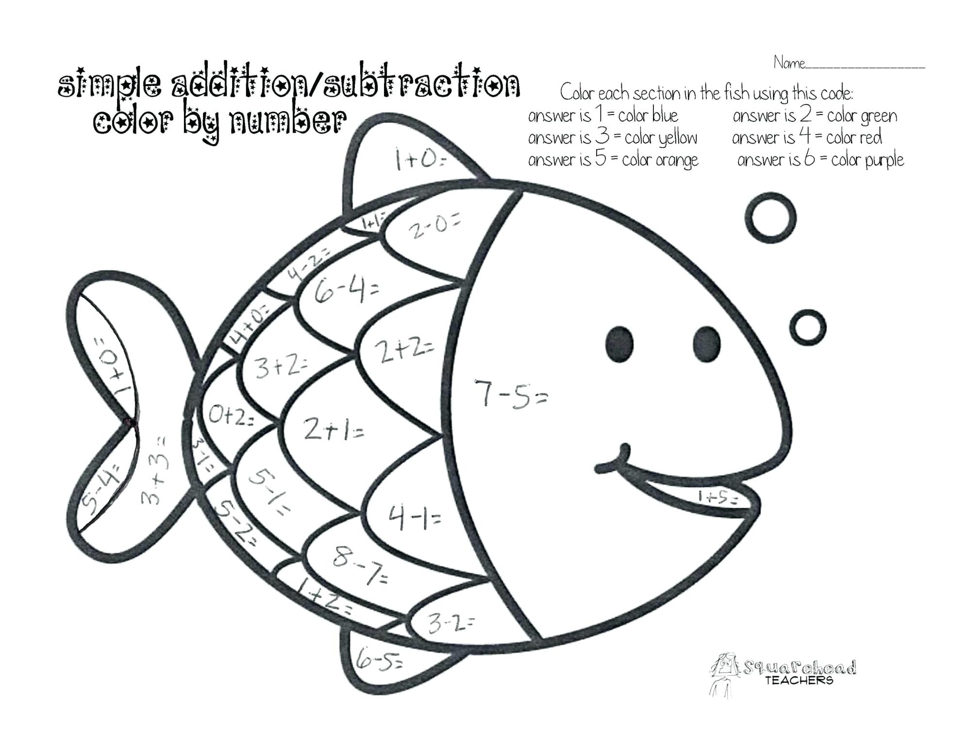 hight resolution of Coloring Pages : Free Mathg Sheets For 2nd Grade ... - Coloring Home