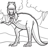 Tyrannosaurus Rex Coloring Pages   Coloring Home