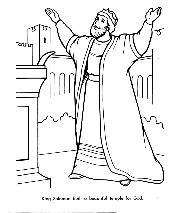 King Saul Coloring Page : coloring, Coloring, Pages