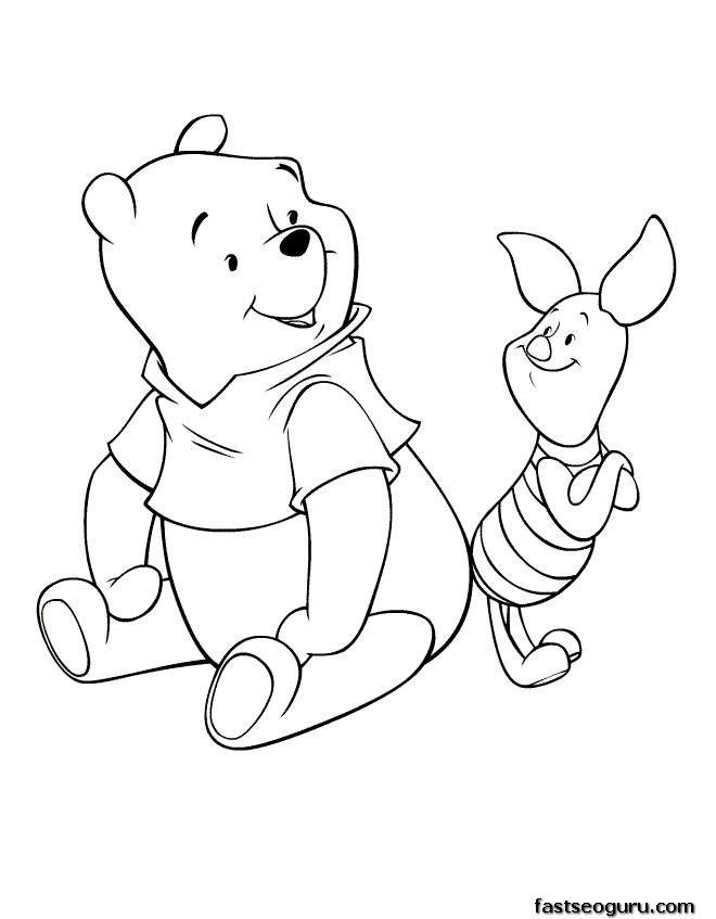 Cute Disney Characters Coloring Pages : disney, characters, coloring, pages, Printable, Coloring, Pages, Disney, Characters