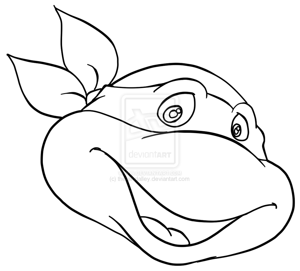 Ninja Turtle Printable Coloring Pages