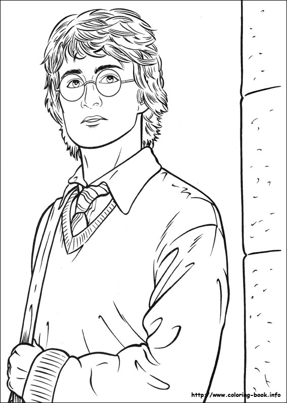 Harry Potter Coloring Pages On Coloring-Book.info